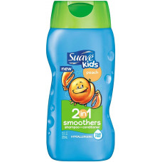 Suave – 2 in 1 Kids Shampoo + Conditioner (Peach)