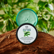 The Body Shop – (Tea Tree) Skin Clearing Clay Mask