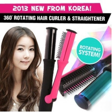 China Cosmetics – 360° Rotating Hair Curler & Straightener