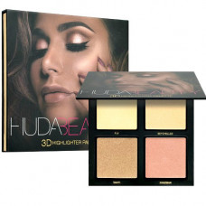 Dubai Cosmetics – 3D Eye Shadow Palette (Golden Sands)