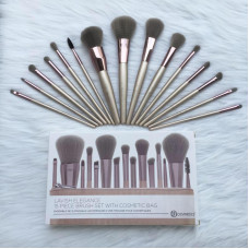 BH Cosmetics – 15 Piece Makeup Brush Set (Lavish Elegance)