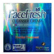 Face Fresh – Cleanser Cream (Freckle Treatment)