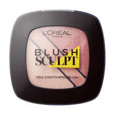 L'Oreal Paris - Blush Sculpt Trio Contouring Blush (Loreal)