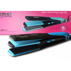 Kemei – Hair Straightener & Curler 2 in 1 (KM-2209)