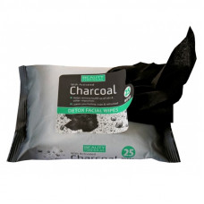 Beauty Formulas – Charcoal Detox Facial Wipes