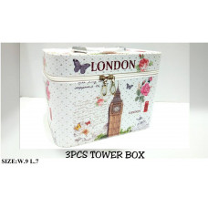 China Cosmetics – 3 Pcs Tower Box
