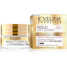 Eveline - Gold Lift Expert Luxurious Firming Cream Serum with 24K Gold 40+