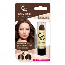 Golden Rose – Grey Hair Touch-Up Stick (Chestnut Brown)